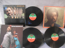 3 Records 1 Price! Oscar Brown Jr, Movin On / Brother Where Are You / Fresh, R&B