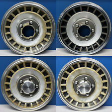 "'79-96 Ford Bronco F150 E150 Ranger # 784 / 785 15"" 4X4 Hubcaps USED SET 4"