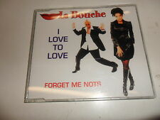 Cd   La Bouche  ‎– I Love To Love / Forget Me Nots