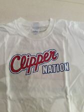 NBA Los Angeles Clippers Clipper Nation Playoffs sponsor T Shirt L