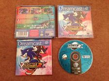 SONIC ADVENTURE 2 SEGA DREAMCAST GAME WITH MANUAL OFFICIAL UK PAL VGC