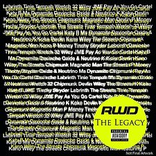 RWD The Legacy (SEALED 3xCD) Wretch 32 Example Labrinth Kano Wiley Skepta Dizzee