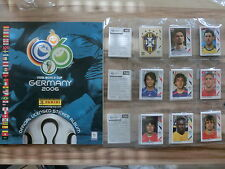 PANINI WM WC 2006 * KOMPLETTSET LEERALBUM ** LOOSE SET EMPTY ALBUM  + BRIEFMARKE