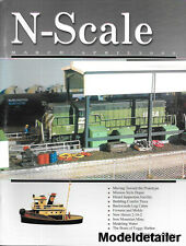 N-Scale Mar.2000 Mission Style Depot Conifer Trees New Haven Water Mine Boats