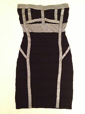 NEW Material Girl Strapless Sleeveless Tube Dress MG102912 Black Small