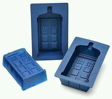 Doctor Who tardis Gelatin Silicone Mold Set