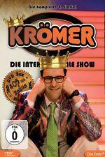 """KURT KRÖMER """"DIE INTERNATIONALE SHOW 4. STAFFEL"""" 3 DVD"""