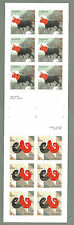 "CANADA 2011 GUTTER BOOKLET PANES - Zodiac Signs ARIES & TAURUS - 12 @ ""P"" - MNH"