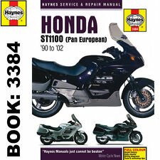 Honda ST1100 Pan European V-Fours 1990-2002 Haynes Workshop Manual