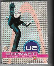 Rare!!! U2 Popmart box set incl popup pic/book 2xDVD's only
