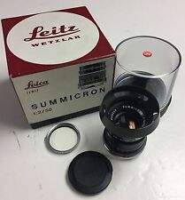 Leica Summicron-M 50mm F2 11817 ver 3 rear inner element has fungus good user