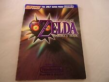 The Legend of Zelda Majora's Mask Nintendo 64 N64 Strategy Guide Player's Book