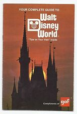 1976 GAF Walt Disney World Guide