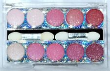 Crossdresser 10 Color Blend Sparkle Eyeshadow Palette Kit Glitter Ingrid`1