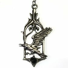 The Raven Bird Pendant Necklace Children of the Night CN09