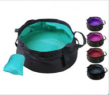 Portable Multifunction Outdoor Travel Bag Durable Folding Hold Water Wash Basin