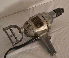 "CLEAN! VINTAGE SIGNAL ELECTRIC CO. HEAVY DUTY STANDARD 1/2"" DRILL RUNS Great"