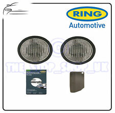 Ring Microline Round Driving Lights Lamps inluding White Covers spot BRL0562C