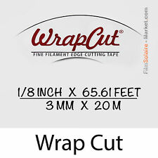 """WrapCut"" - 20m, fil de coupe film vinyl, adhésif, covering, wrap, Filament Tape"