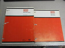 Case 960 960 Combine Parts Catalog Manual SetC957 1970