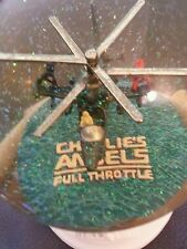 Snow Globe: Charlie's Angels Full Throttle Movie Promo/Helicopter RARE