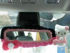 Hello Kitty Car Accessory : Rear View Mirror Cover #Black