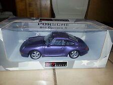 Diecast 1:18 UT Porsche 911 Carrera S Purple