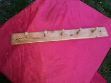 reclaimed shaker peg coat/ rk /100 year old pine -- size to fit interior door