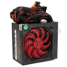 500W ATX Computer Power Supply Case Intel i7 / AMD CPU Smart Silent Cooling Fan