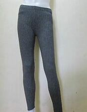 "25""-31"" STRIPES BLACK Plain Work-out Leggings Active, Casual Wear Free Size v6"