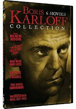 BORIS KARLOFF COLLECTION: 6 MOVIES - DVD - Sealed Region 1