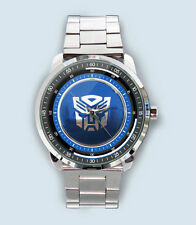 Get New Transformers Autobot Custom Stainless Steel Metal Watch