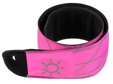 Nite Ize SlapLit LED Slap Wrap Bracelet Pink Glow And Flash Modes SLP2-35-R3 NEW