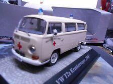 VW Volkswagen Bus T2a T2 A Rotes Kreuz Krankenwagen DRK Premium Classixxs  1:43