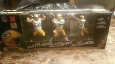 PACKERS Matthews Rodgers Jennings  2011 Factory Sealed McFarlane NFL 3 Figures