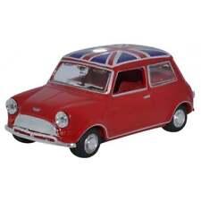 Oxford Diecast 1:43 43MIN023 Tartan Red/Union Jack Austin Mini