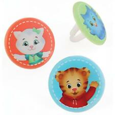 Cake Decorating Cupcake Rings Toppers - Daniel Tiger and Friends
