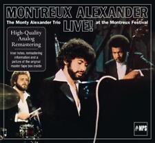 Montreux Alexander - The Monty Alexander Trio Live at the Montreux Festival - CD