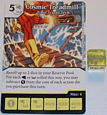 COSMIC TREADMILL:TIME TRAVEL TECH 88 Green Arrow and The Flash Dice Masters Rare