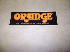Orange Amps PROMO DECAL STICKER RARE Amplifier Small