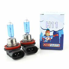 H11 55w Super White Xenon Upgrade HID Front Fog Lamp Light Bulbs Pair