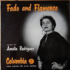 33CS 14 Amalia Rodrigues – Fado & Flamenco – 10″ LP