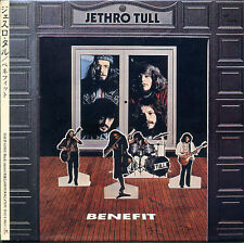 JETHRO TULL Benefit (1970) Japan Mini LP CD TOCP-65881