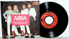 """7"""" Vinyl ABBA - Take A Chance On Me / I´m A Marionette"""