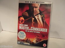 Master and Commander ( Die weit side of The world) stars Russell Crowe