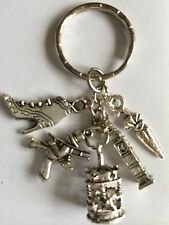 MARY POPPINS Viintage Style Silver Color Key ring. mythical gift, present