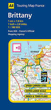 Good, Brittany (AA Road Map France Series), AA Publishing, Book