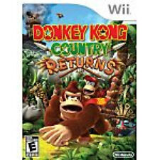 DONKEY KONG COUNTRY RETURNS GAME DISK ONLY WII GAME SYSTEM NINTENDO NES HQ