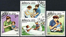 Laos 1985 SG#860-863 Health Services Cto Used Set #A84816