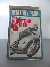 Mallory Park International Race of Year Motor Cycle Race Programme 22 Sept 1968